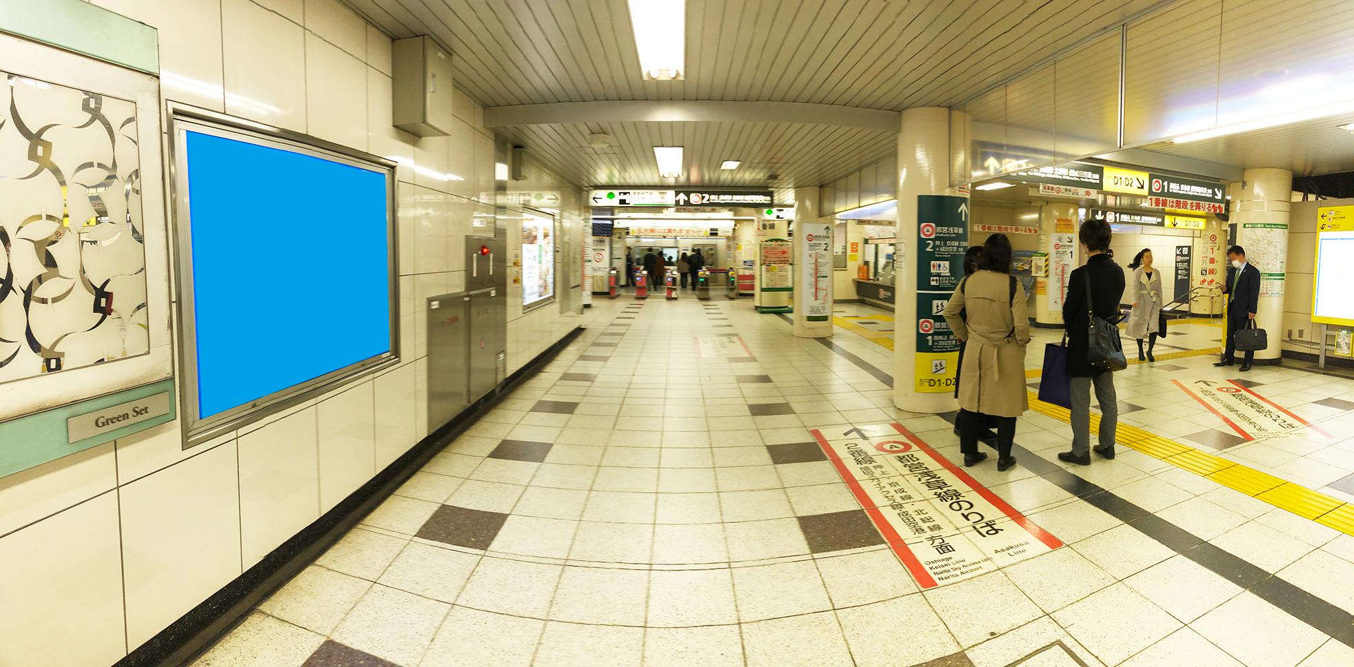 浅草線日本橋駅 5月オープン媒体のご案内