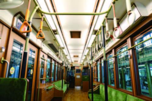 広告貸切電車(レトロ電車)
